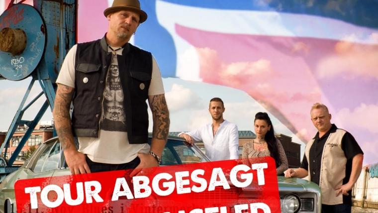 Band fällt auf Booking-Schwindler rein – Skandinavien-Tour abgesagt, Vardo hofft noch!