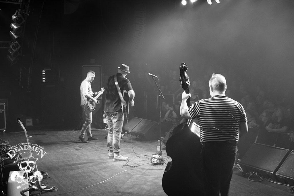 "Konzert ""Jimmy Cornett and the Deadmen"" in Hamburg, Markthalle am 04.10.2019. Fotos: Daniela Stelter"