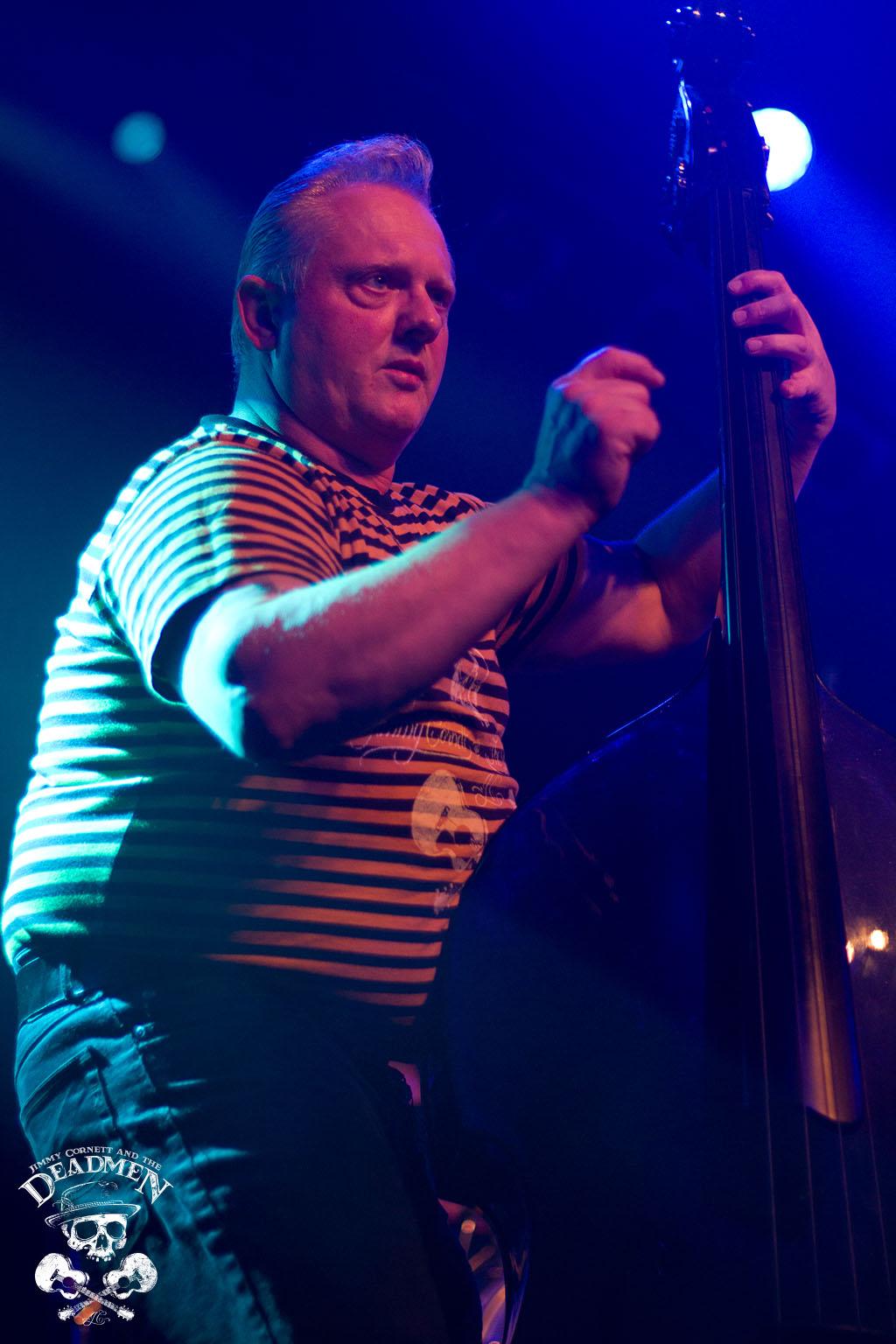 "Frank Jäger beim Konzert ""Jimmy Cornett and the Deadmen"" in Hamburg, Markthalle am 04.10.2019. Fotos: Daniela Stelter"