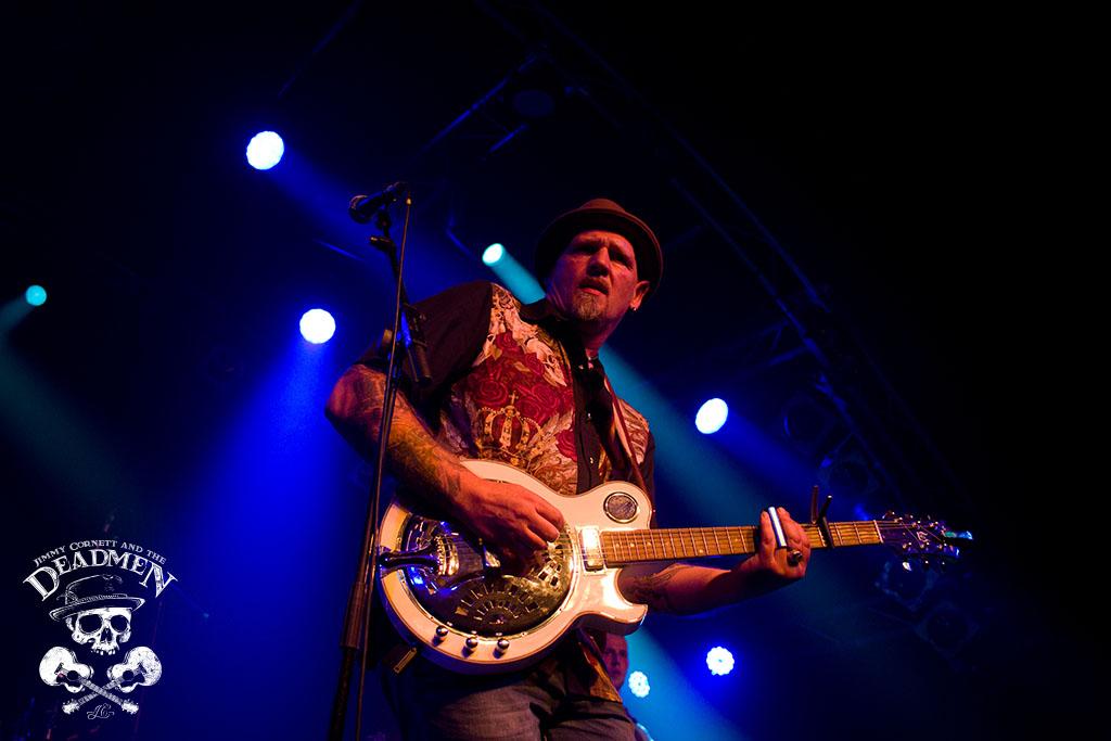 "Jimmy Cornett beim Konzert ""Jimmy Cornett and the Deadmen"" in Hamburg, Markthalle am 04.10.2019. Fotos: Daniela Stelter"